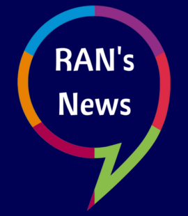 Simple RAN Logo for News Updates