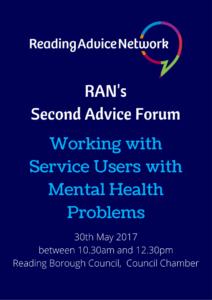 RAN's second Advice Forum
