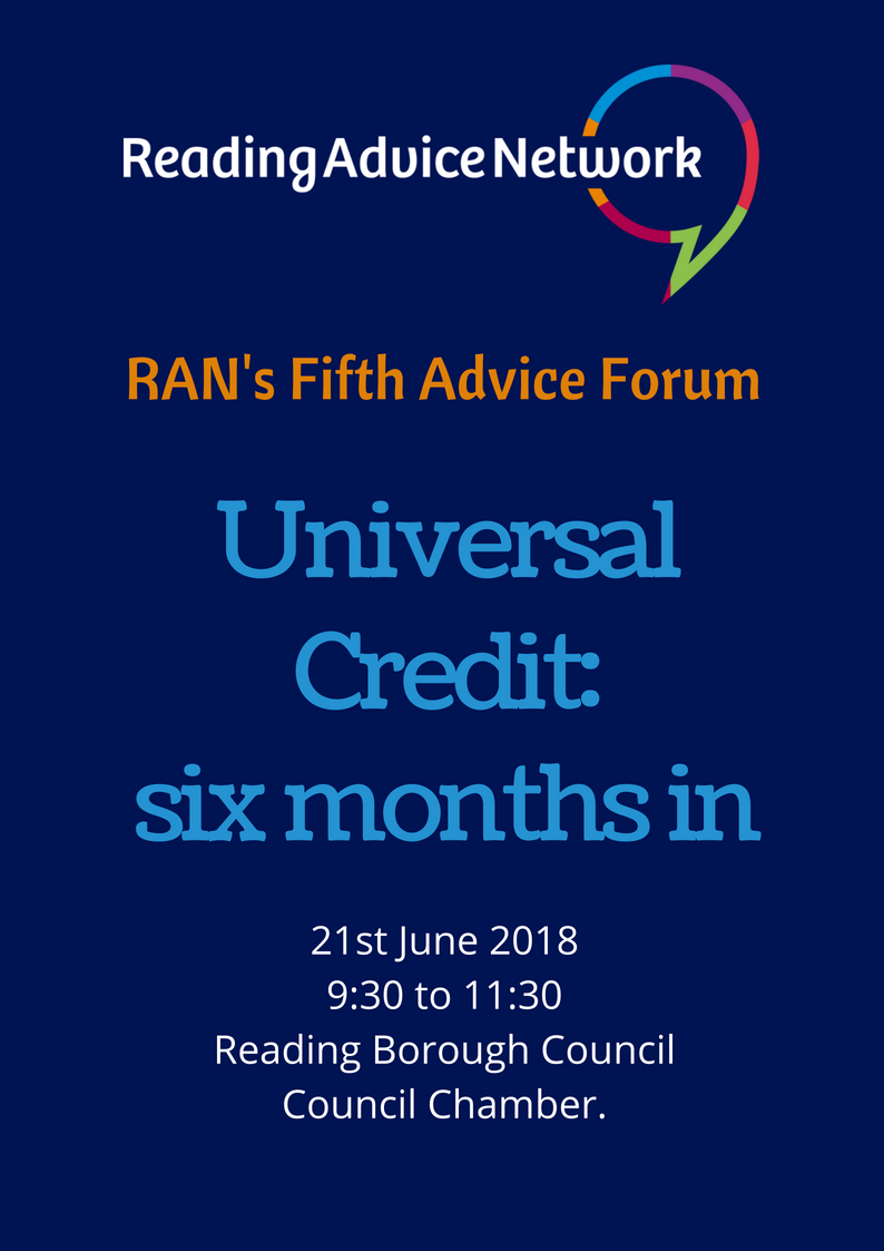 Universal Credit RAN's Fifth Forum
