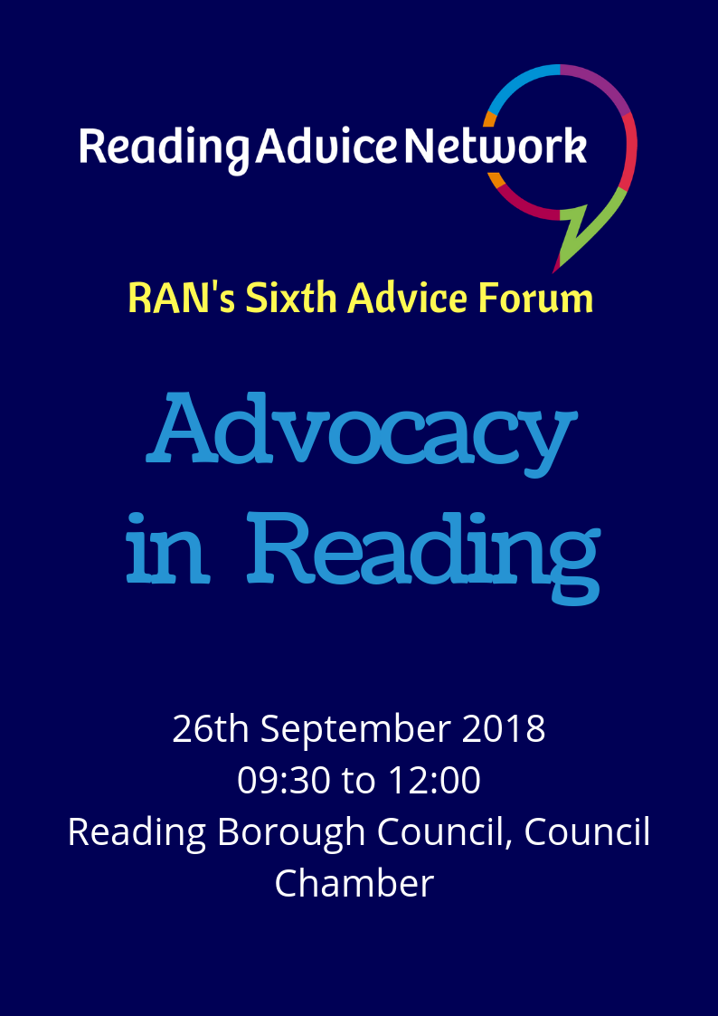 Advocacy in Reading